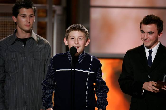 Justin Berfield, Erik Per Sullivan et Frankie Muniz à la 7th Annual Family Television Awards, le 30 novembre 2005.