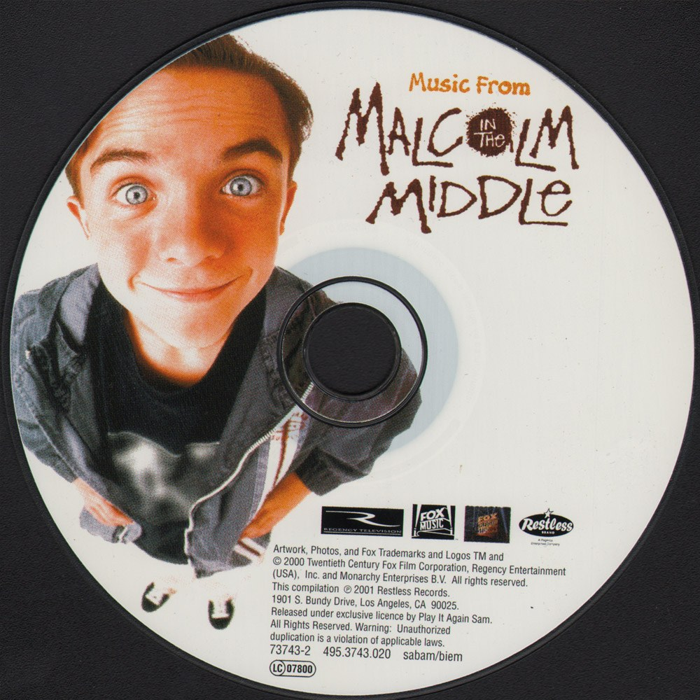 Music from Malcolm in the Middle.-from-malcolm-in-the-middle_disque