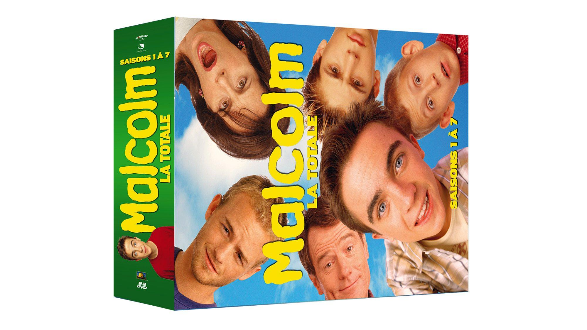 Coffret Malcolm – La Totale – Saisons 1 à 7