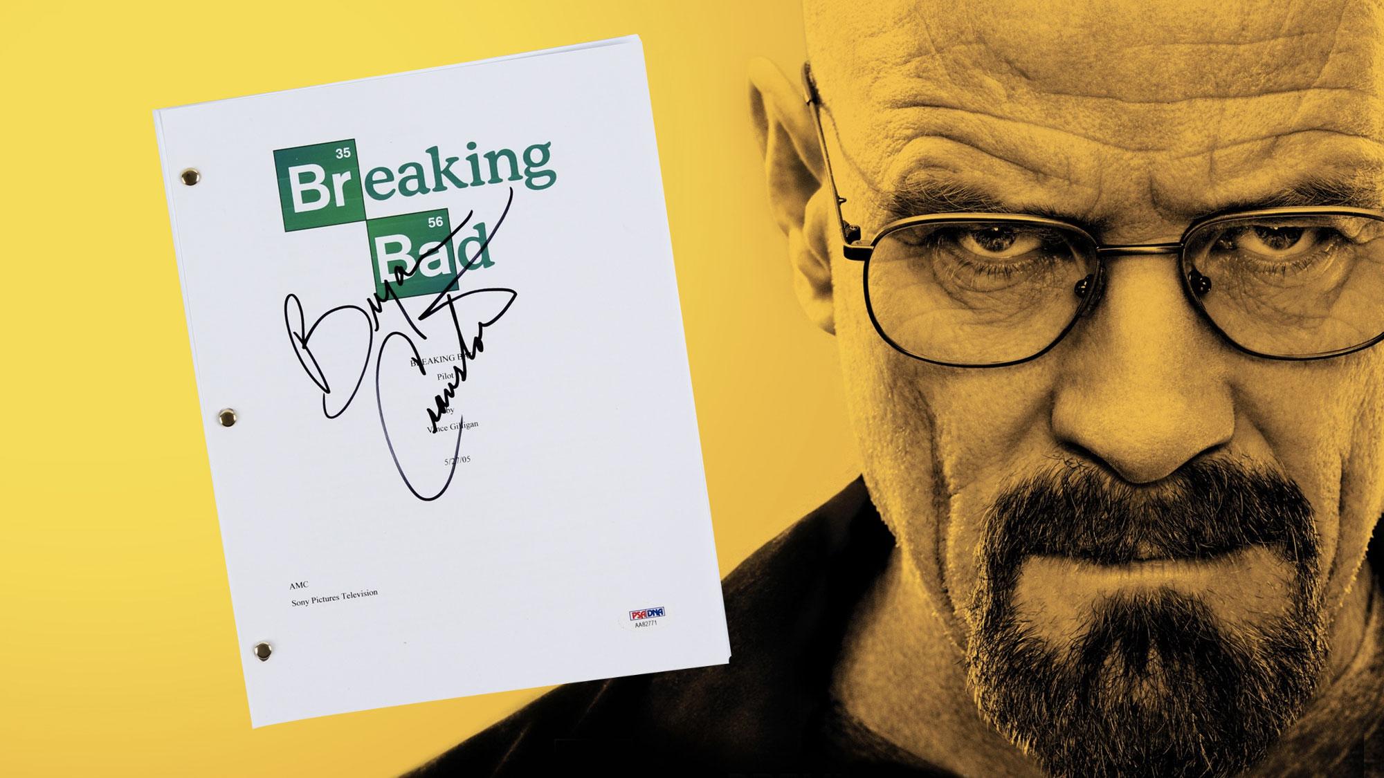 Bryan Cranston se fait dérober un script de la dernière saison de <em>Breaking Bad</em>