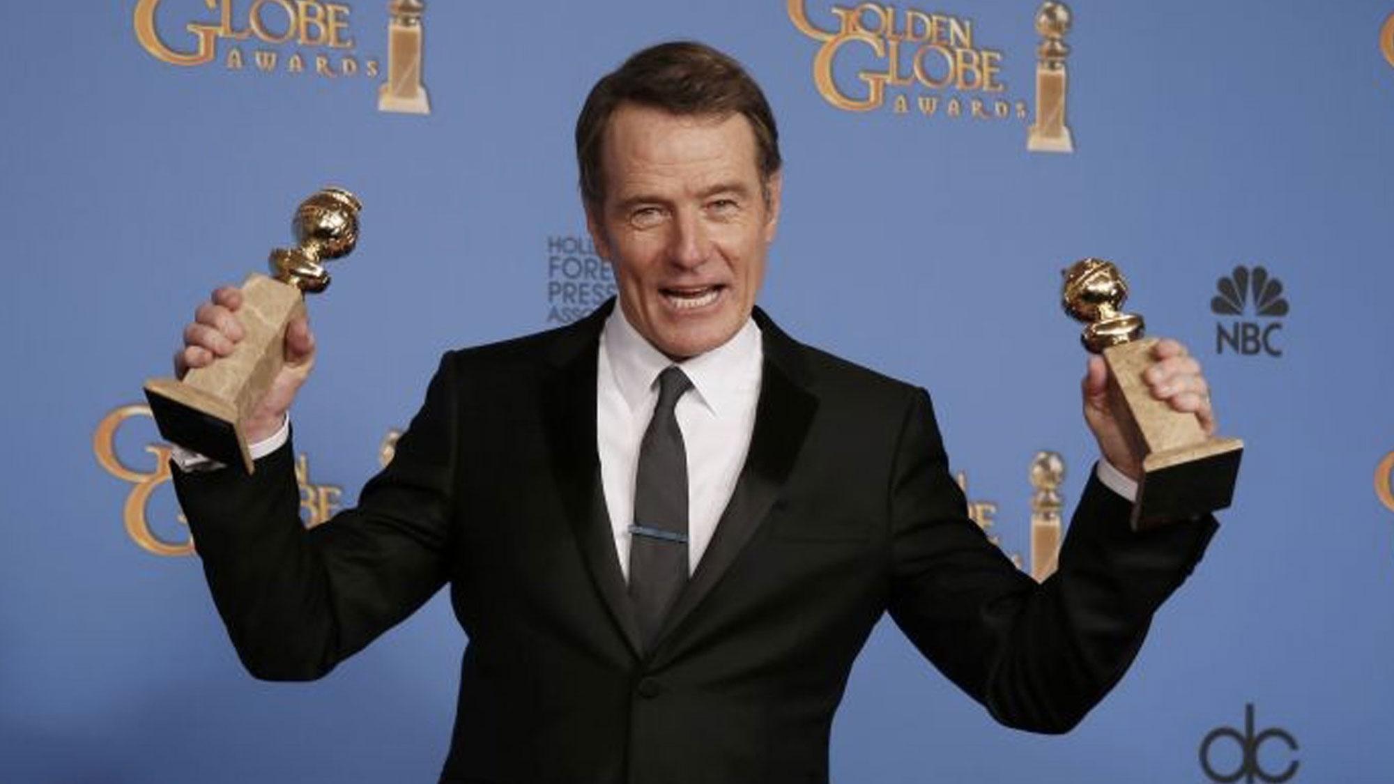 Bryan Cranston et <em>Breaking Bad</em> consacrés aux Golden Globes 2014