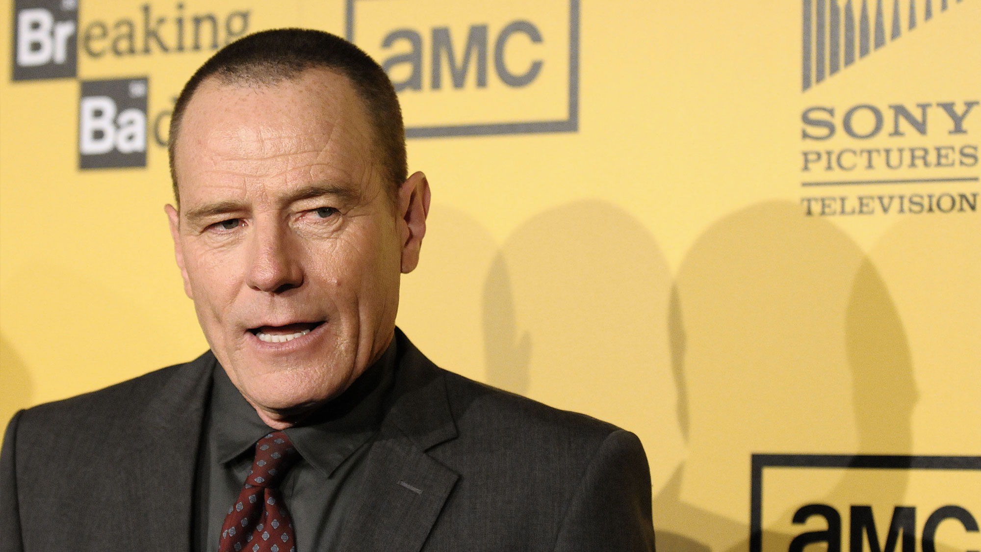 Bryan Cranston à la projection de