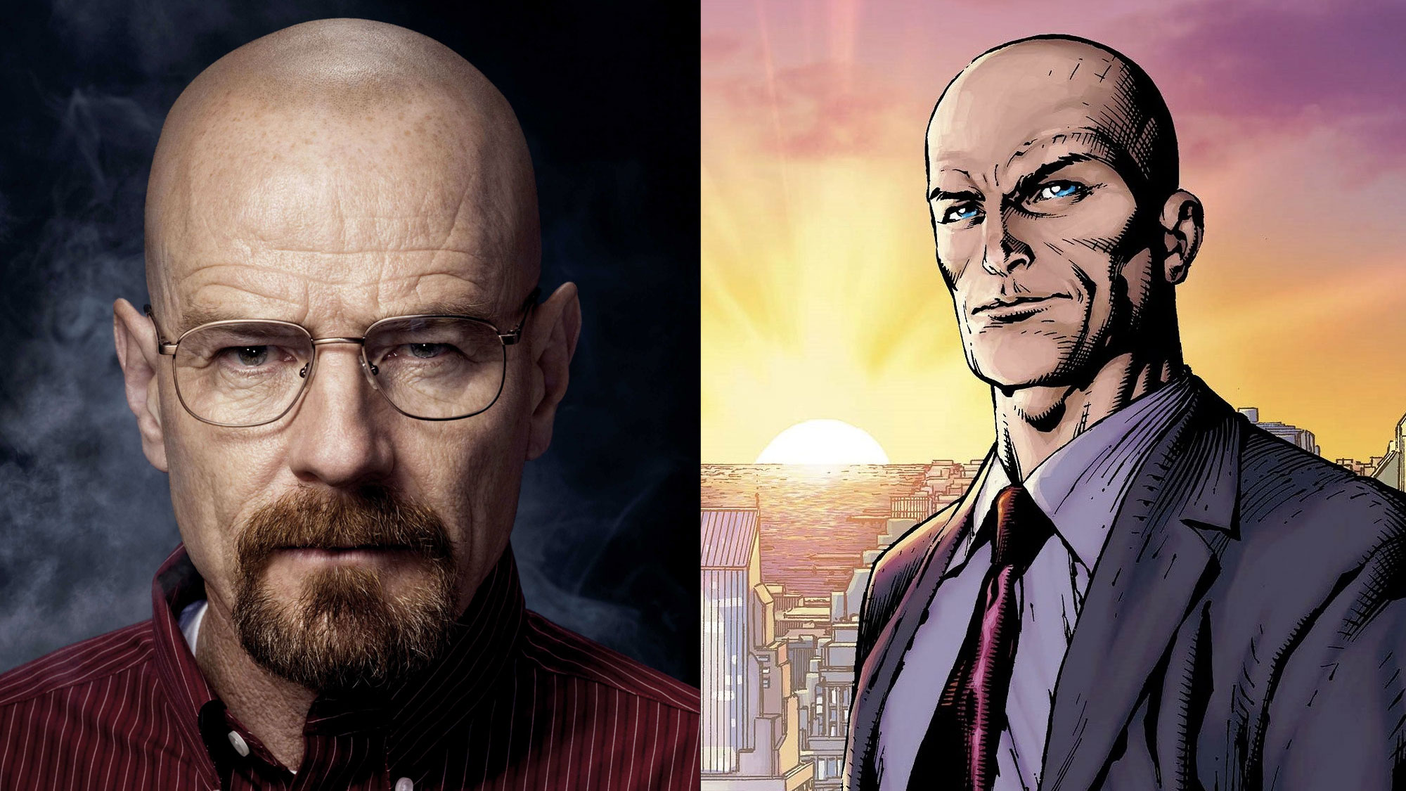 Bryan Cranston vs. Superman ?