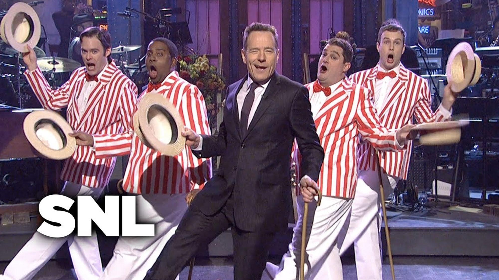 Bryan Cranston dans <em>Saturday Night Live</em> : sketch d'introduction