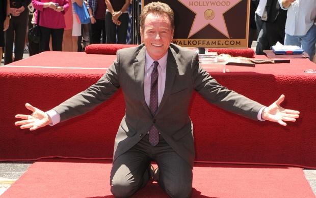Bryan Cranston décroche son étoile sur Hollywood Boulevard.