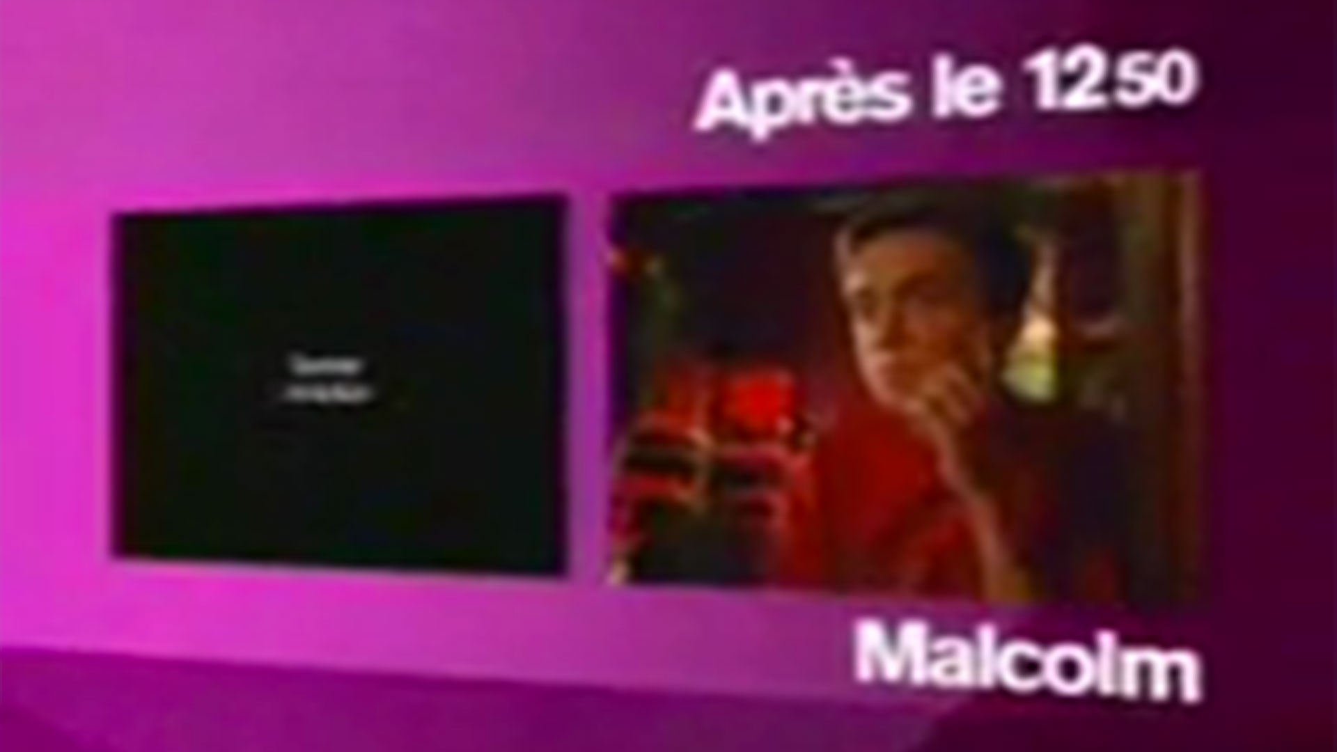 Coming-next <em>Malcolm</em> sur M6