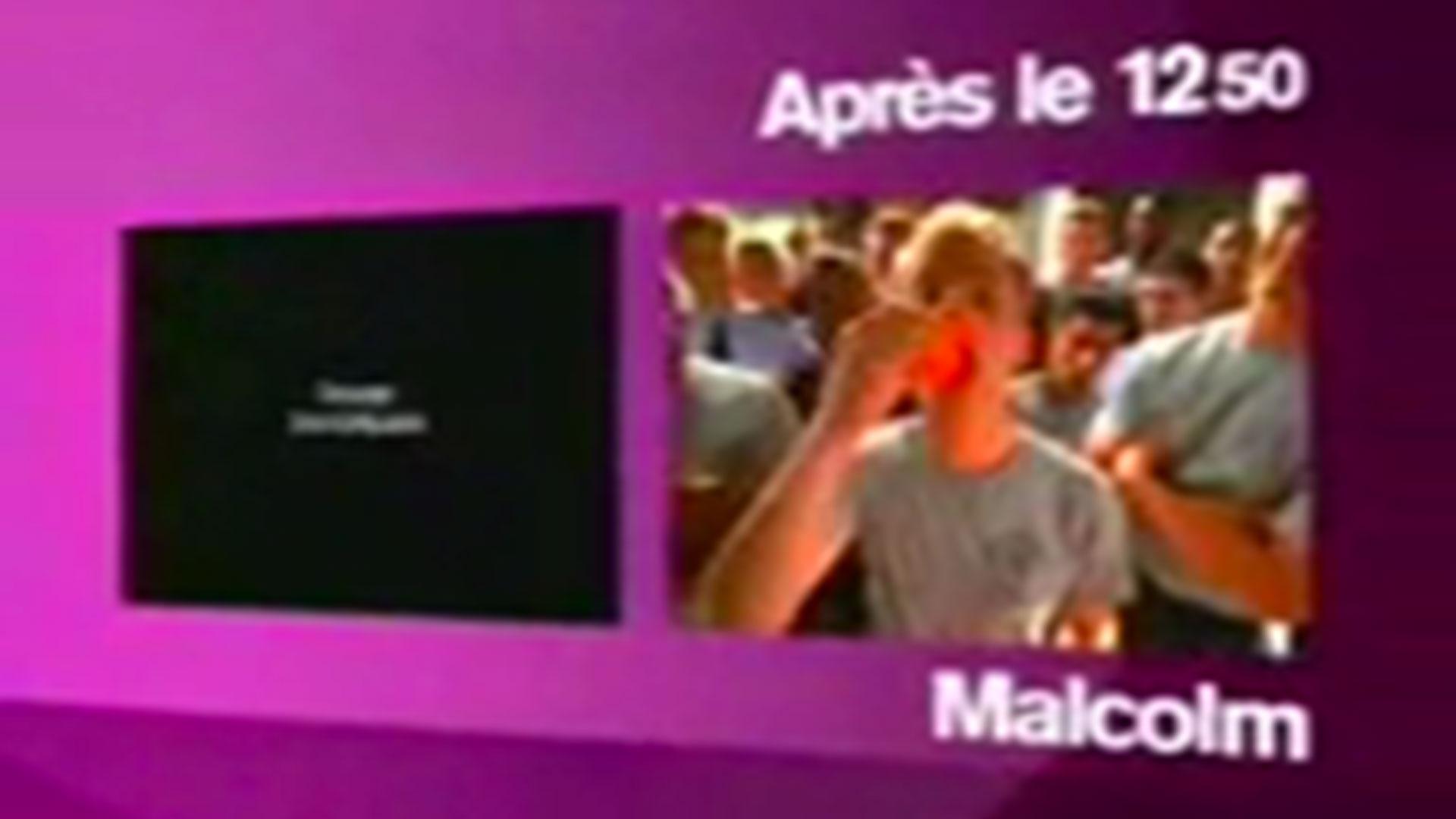 Coming-next <em>Malcolm</em> sur M6