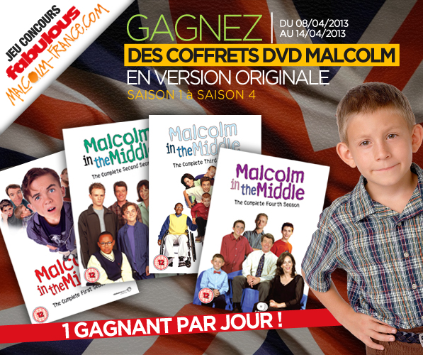 Gagnez des coffrets DVD en version originale avec Fabulous Films et Malcolm France (photomontage).