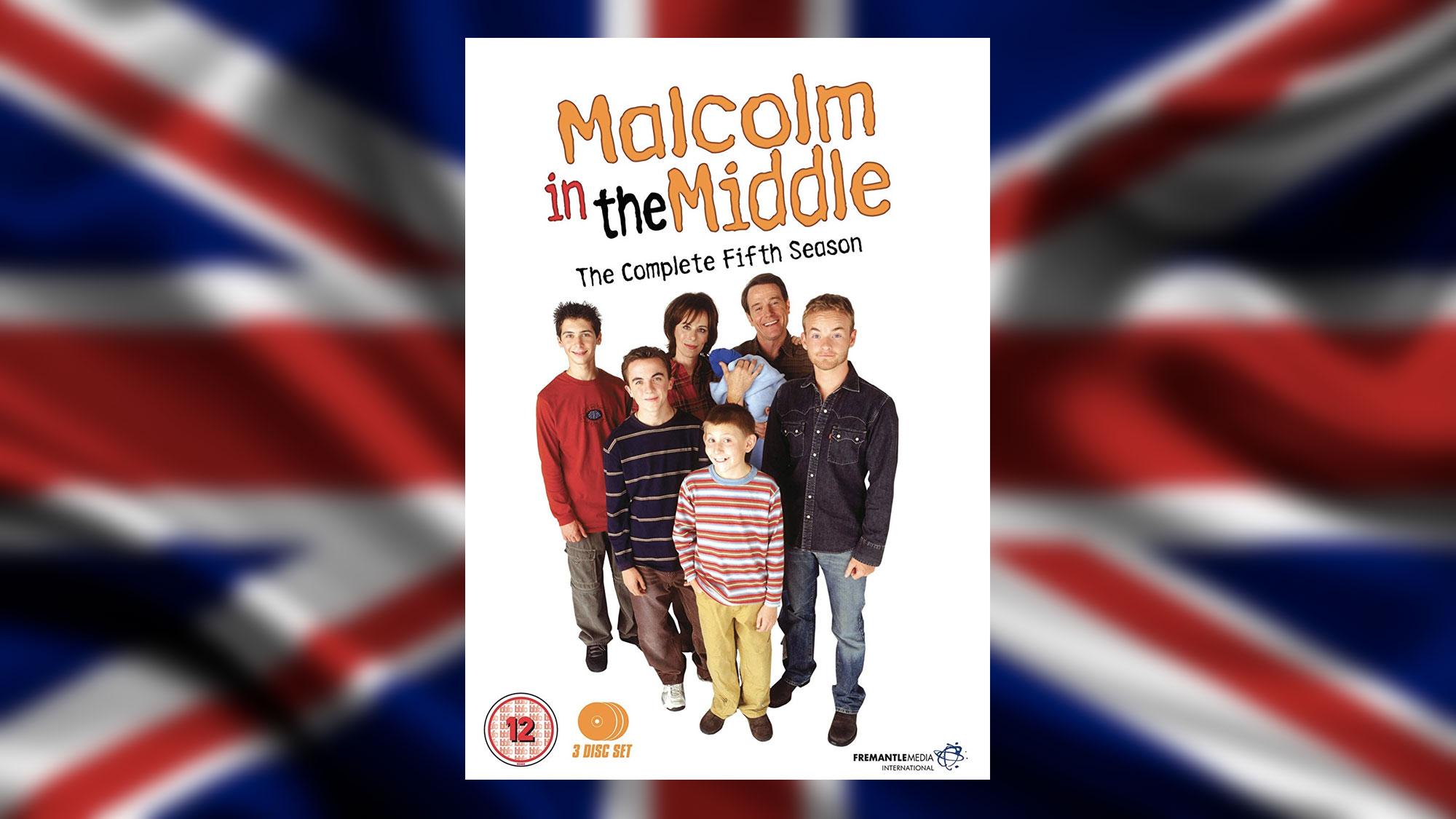 Sortie de la saison 5 de <em>Malcolm</em> édition UK en DVD