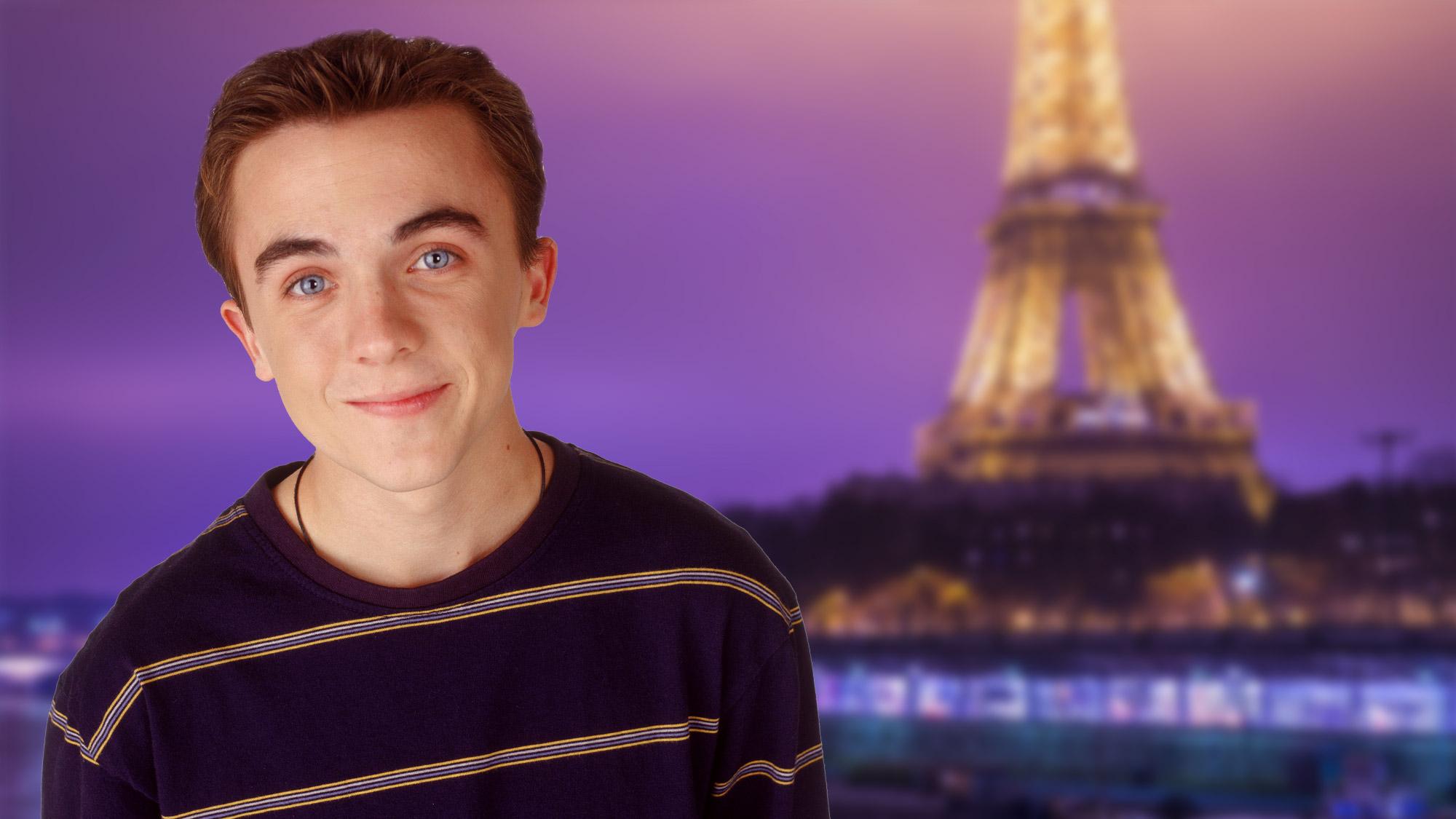 EXCLUSIF. Frankie Muniz vient à Paris pour rencontrer ses fans !