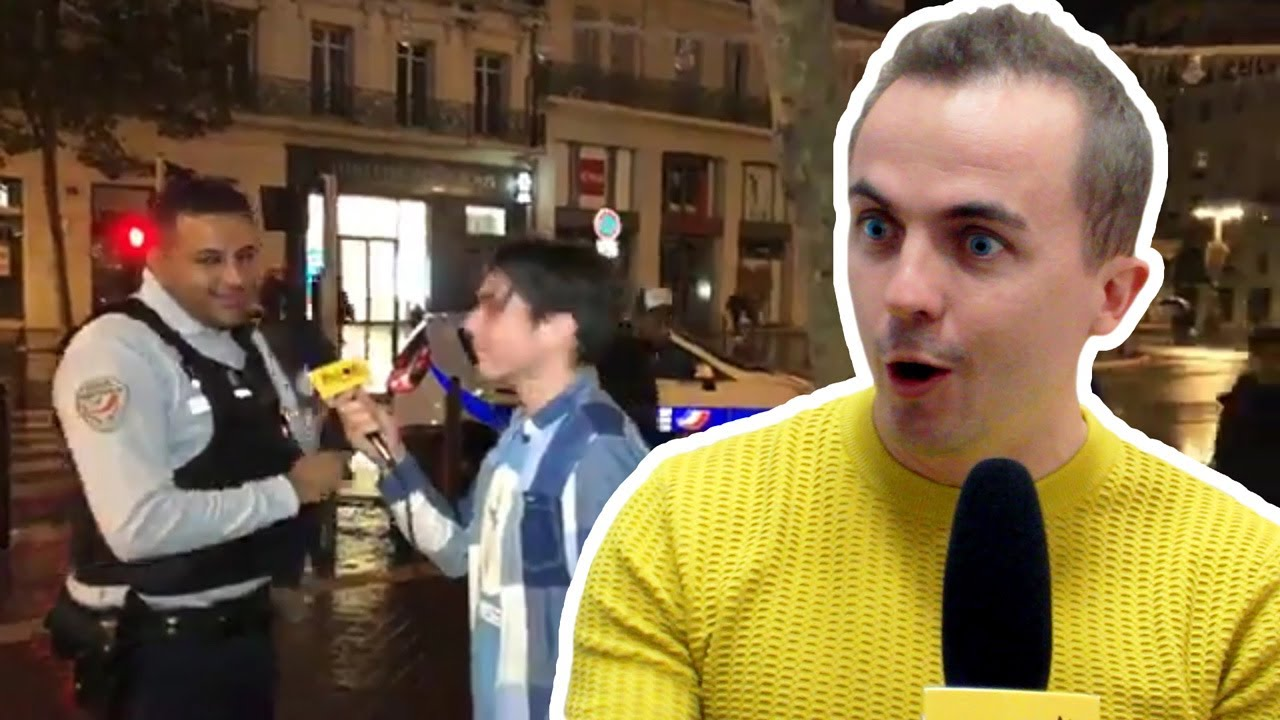 On a montré à Frankie Muniz notre live fou en direct de Marseille où la police débarque !