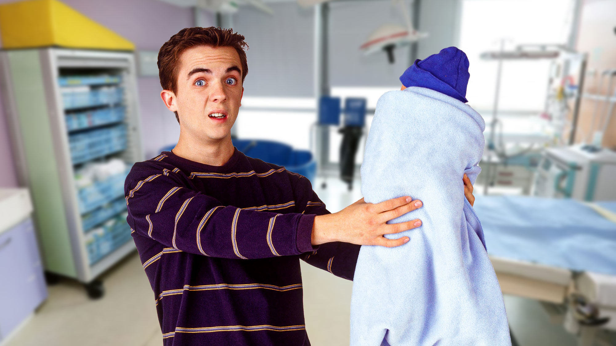 Frankie Muniz est papa ! (photomontage)