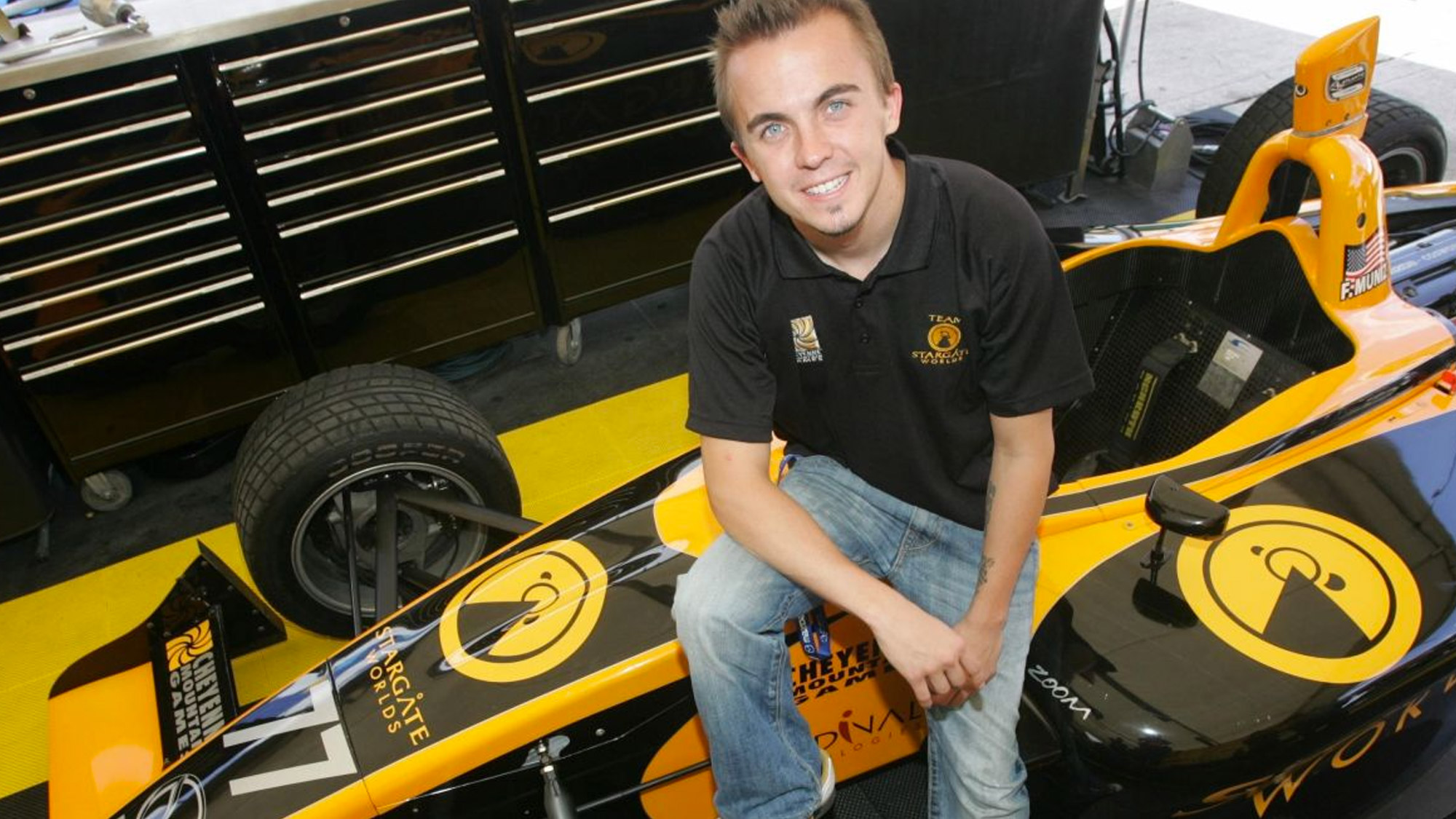 Frankie Muniz aux Cheyenne Mountain Games.