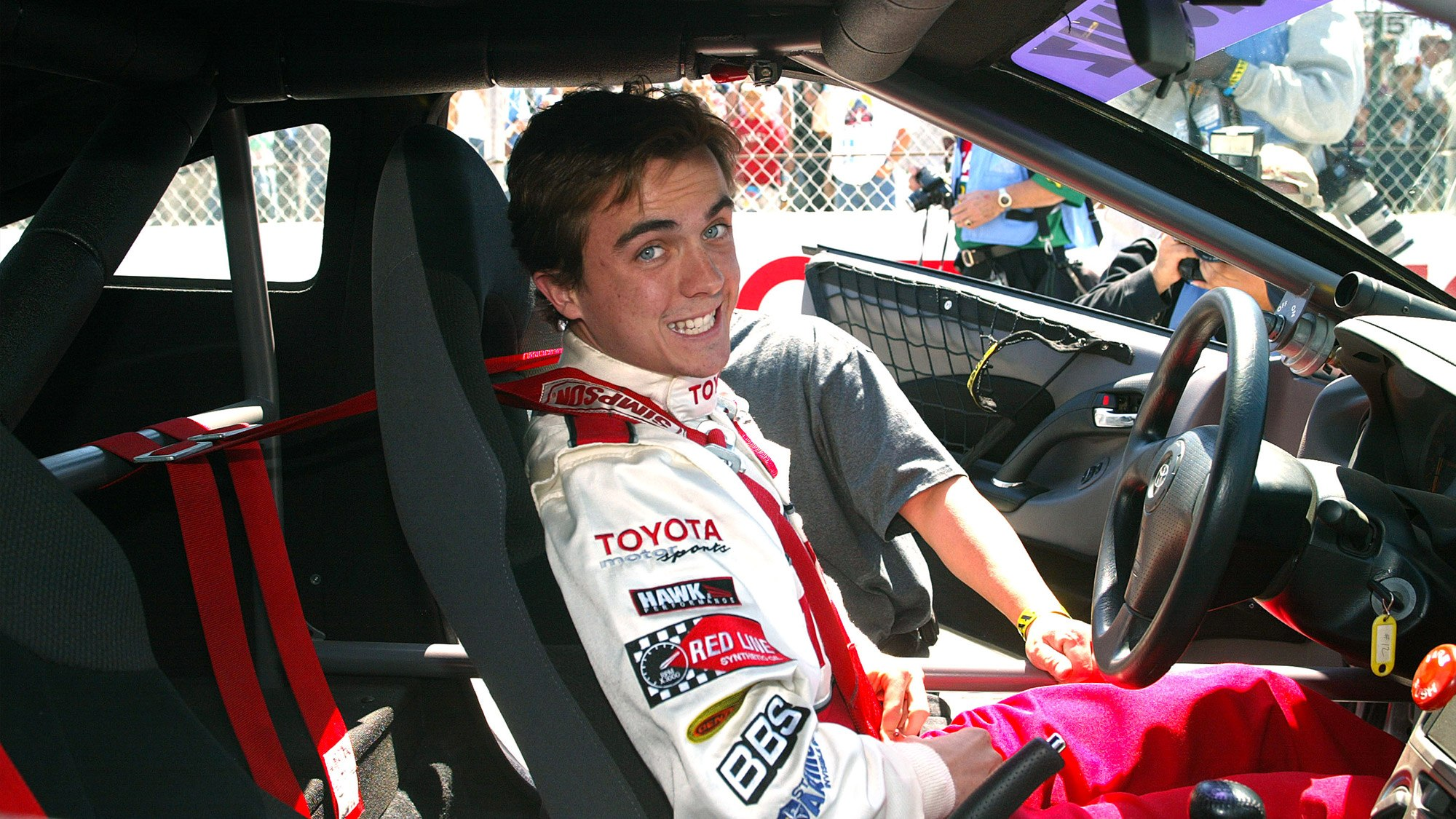 Frankie Muniz : «J'ai appris à piloter, maintenant il faut que je sois plus confiant pour aller plus vite»
