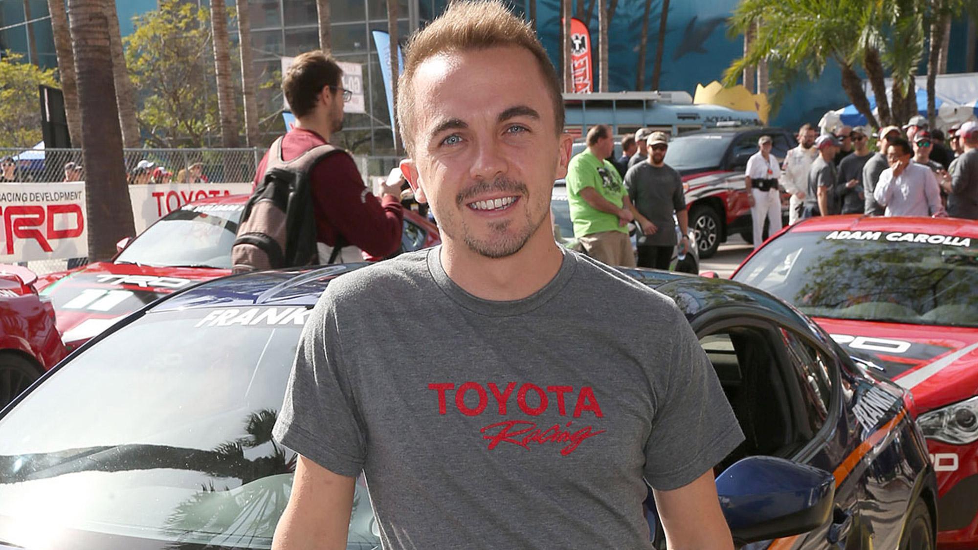 Frankie Muniz et sa passion pour le pilotage automobile.