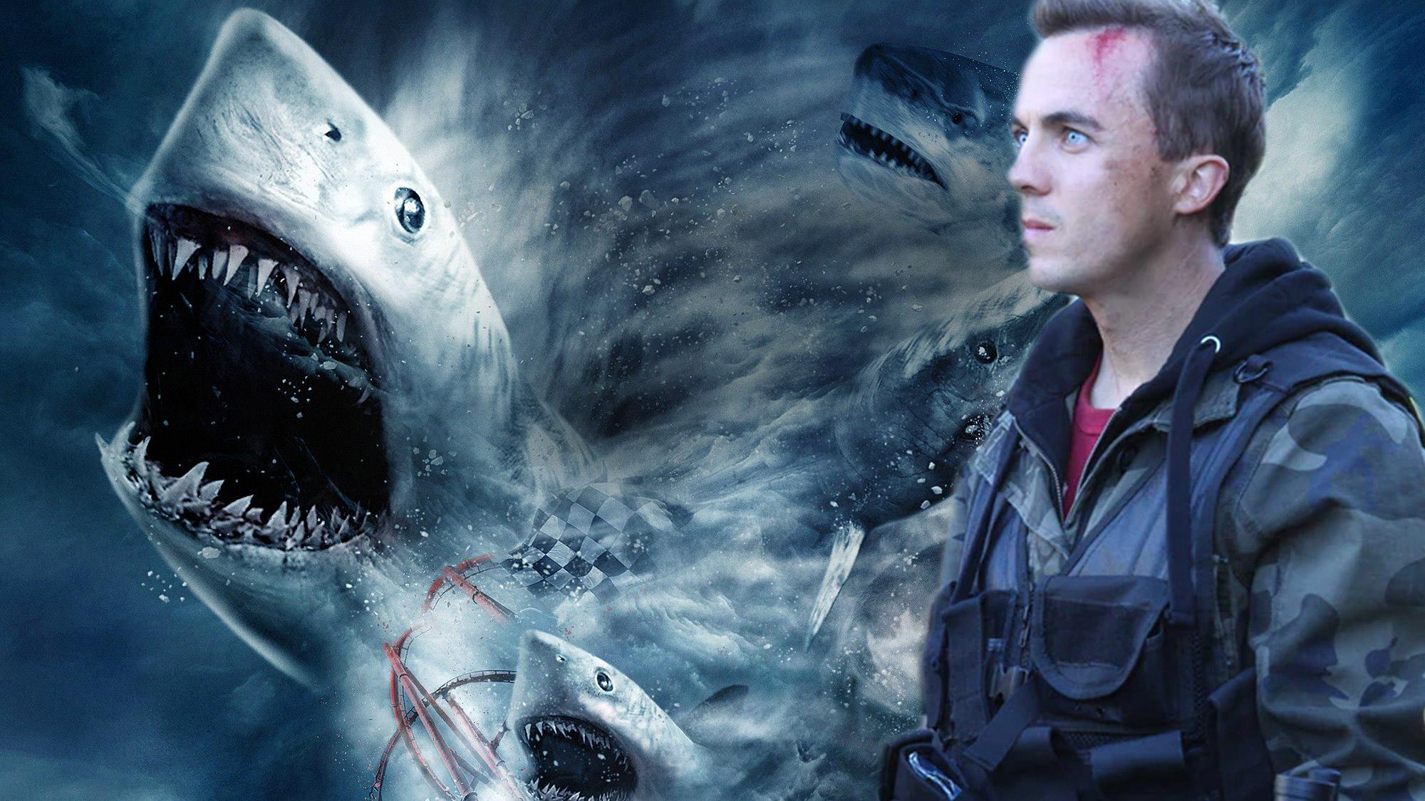 Frankie Muniz rejoint le casting complètement improbable de <em>Sharknado 3</em> !