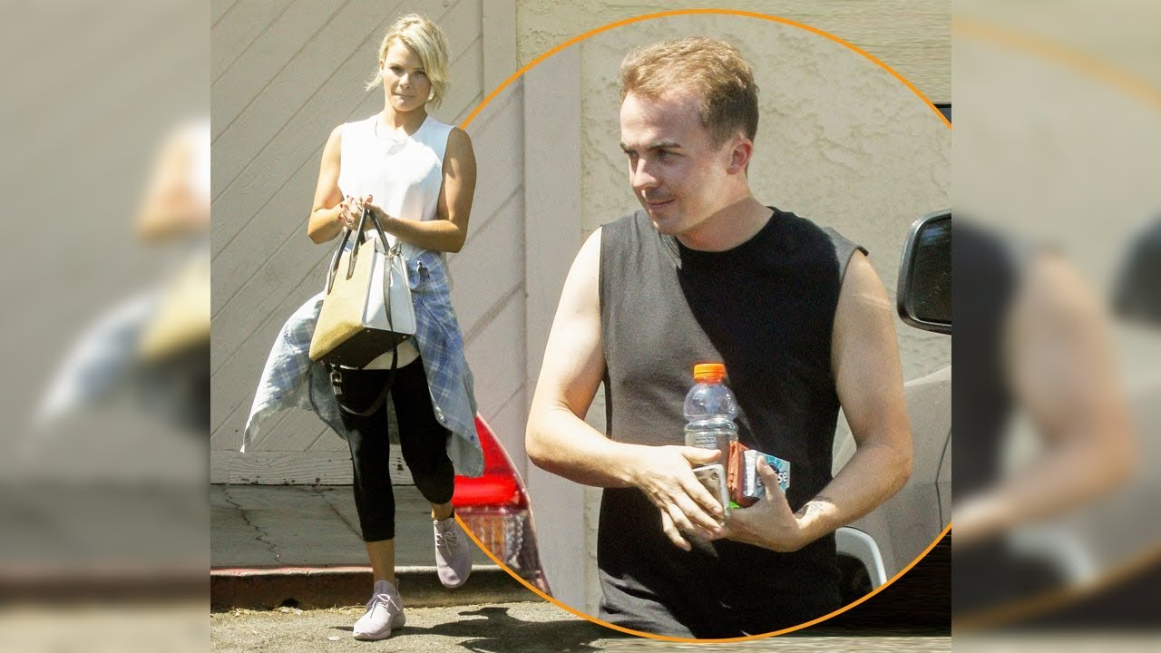 Les répétitions de Frankie Muniz pour <em>Dancing With The Stars</em>