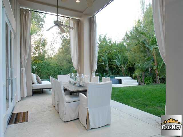 La villa de Justin Berfield à Calabasas (Californie) en avril 2009.