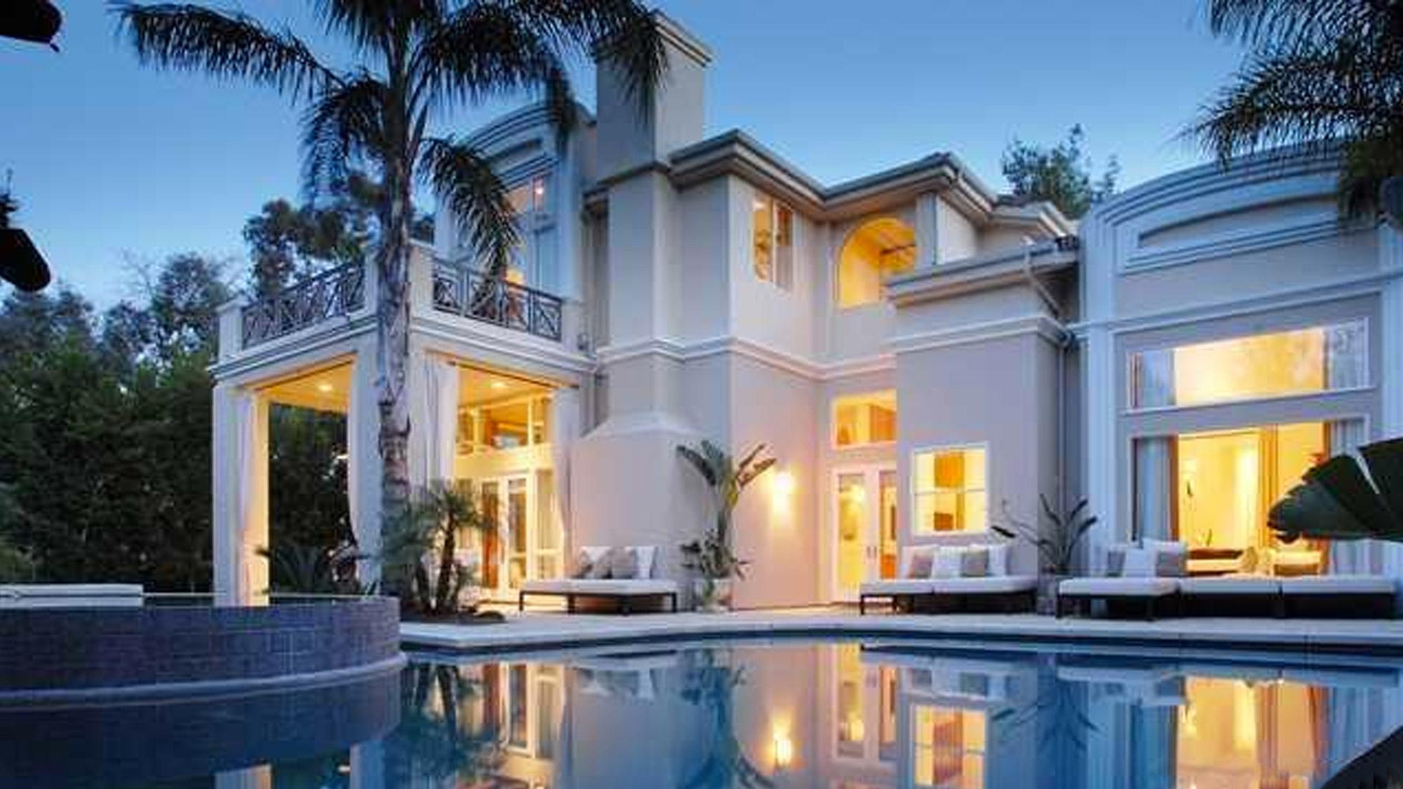 Justin Berfield achète une villa