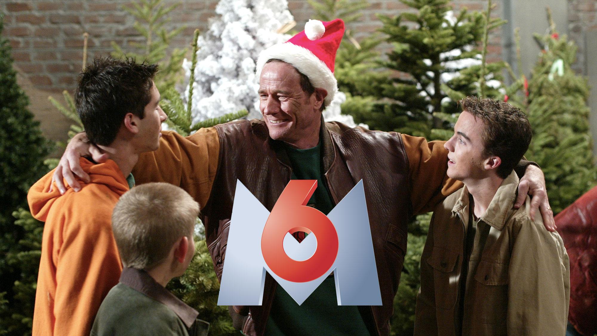 Justin Berfield (Reese), Erik Per Sullivan (Dewey), Bryan Cranston (Hal) et Frankie Muniz (Malcolm) dans l'épisode