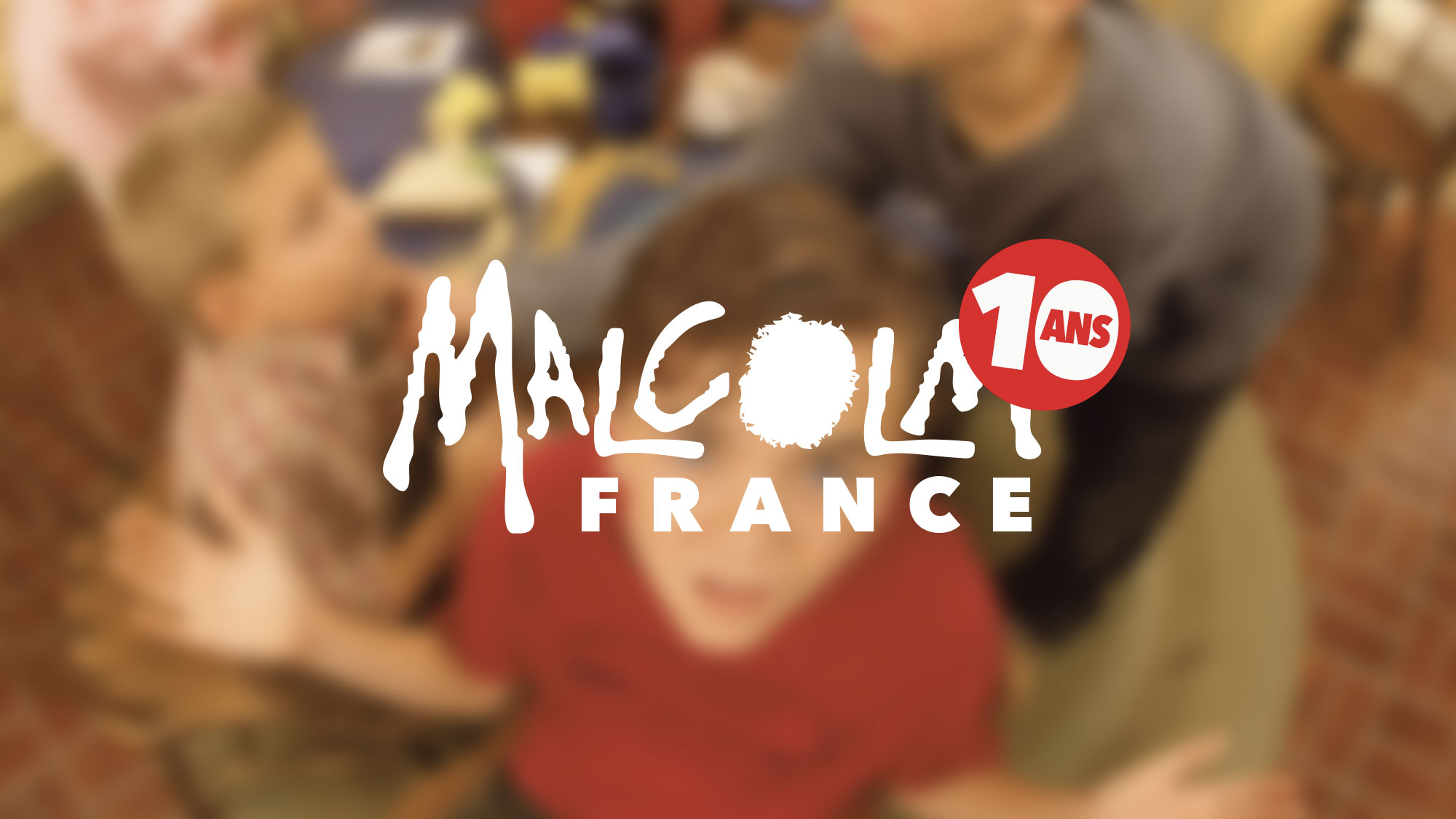 Malcolm France a 10 ans.