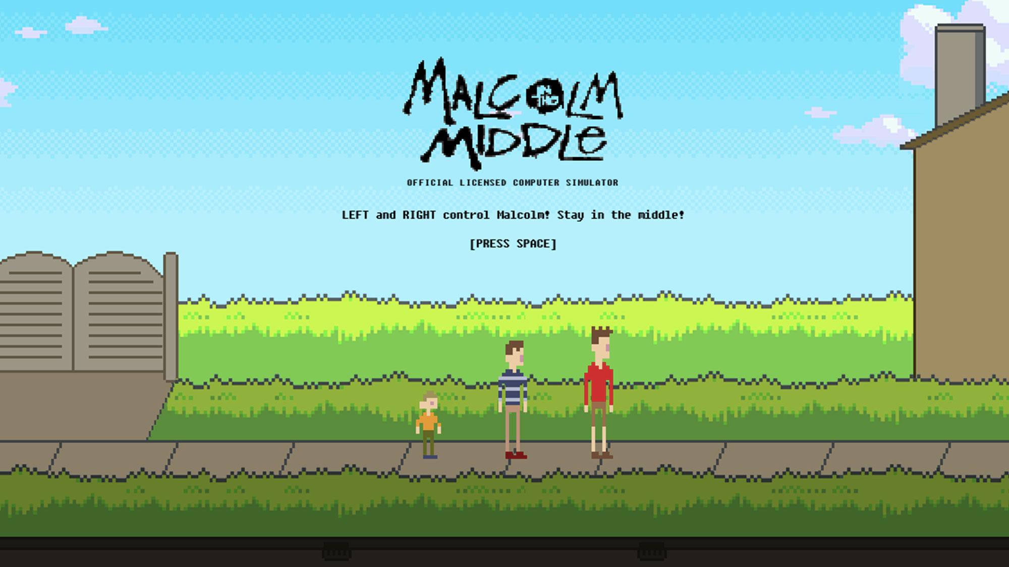 <em>Malcolm</em> revient en jeu vidéo 8-bit !