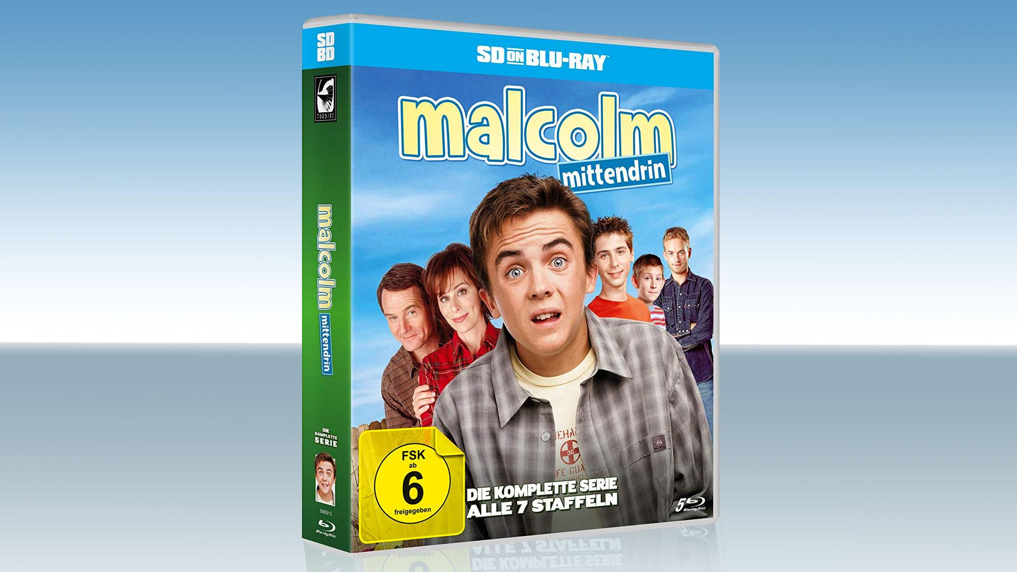 Le coffret allemand Blu-ray