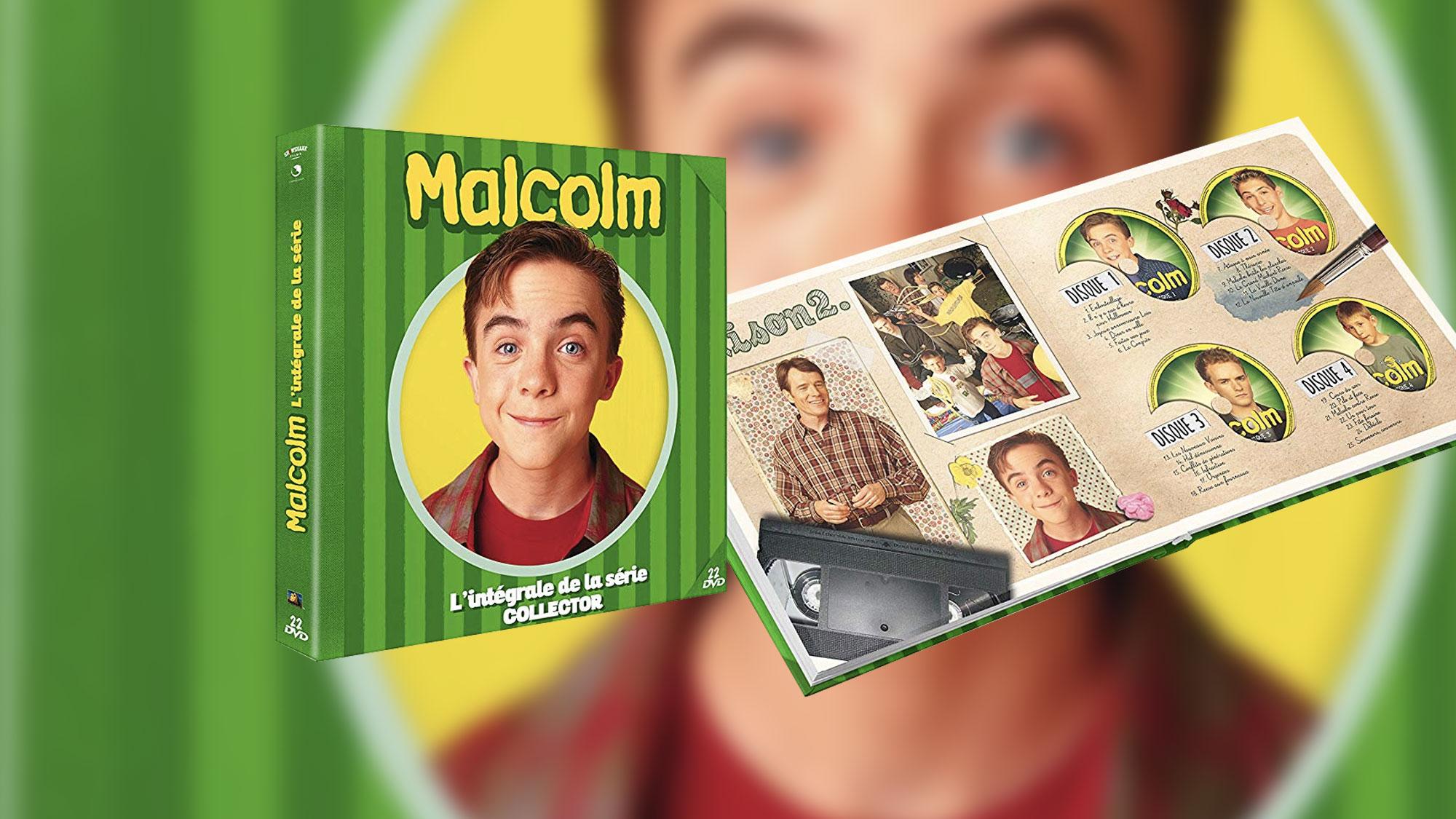 Un nouveau coffret intégral collector de <em>Malcolm</em> sort le 18 octobre !