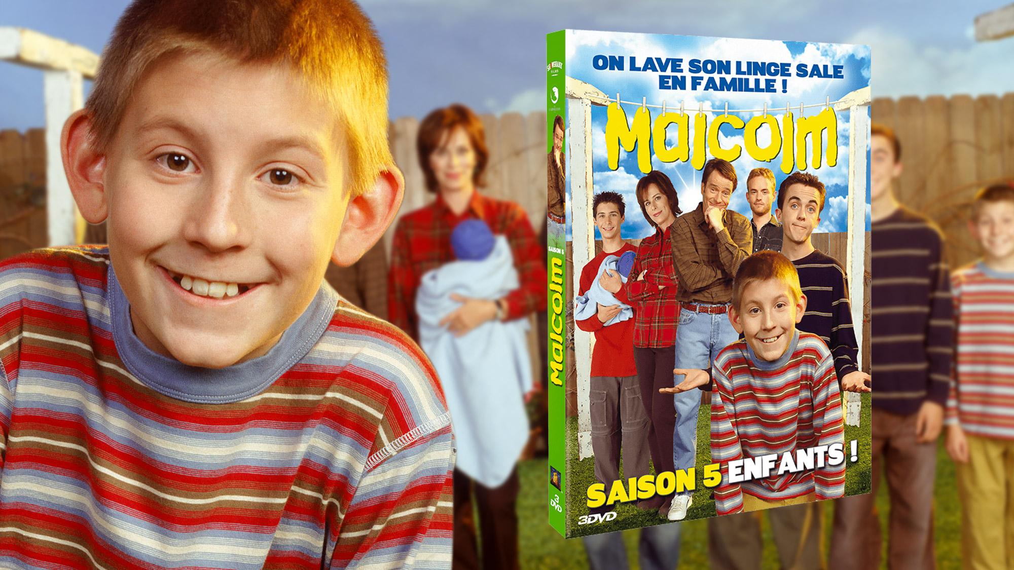 Saison 5 de <em>Malcolm</em> en DVD : le test