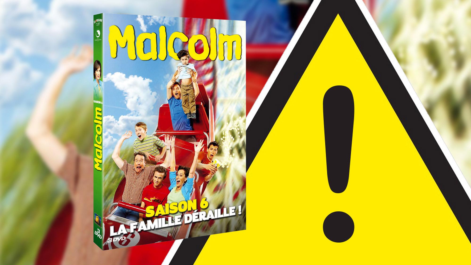 DVD <em>Malcolm</em> saison 6 : le point sur les problèmes concernant l'édition collector