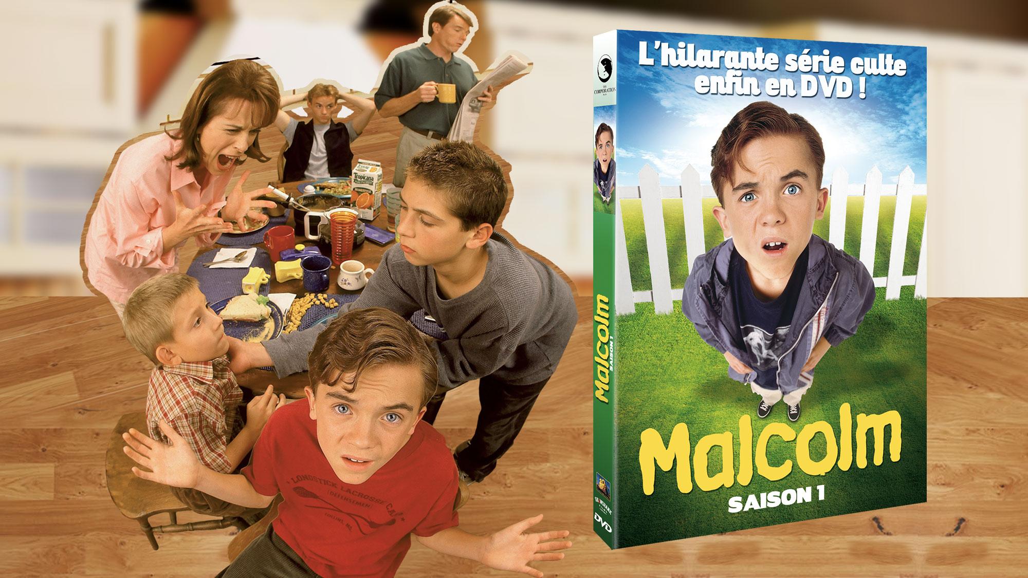 Tout savoir sur le coffret DVD <em>Malcolm</em> saison 1