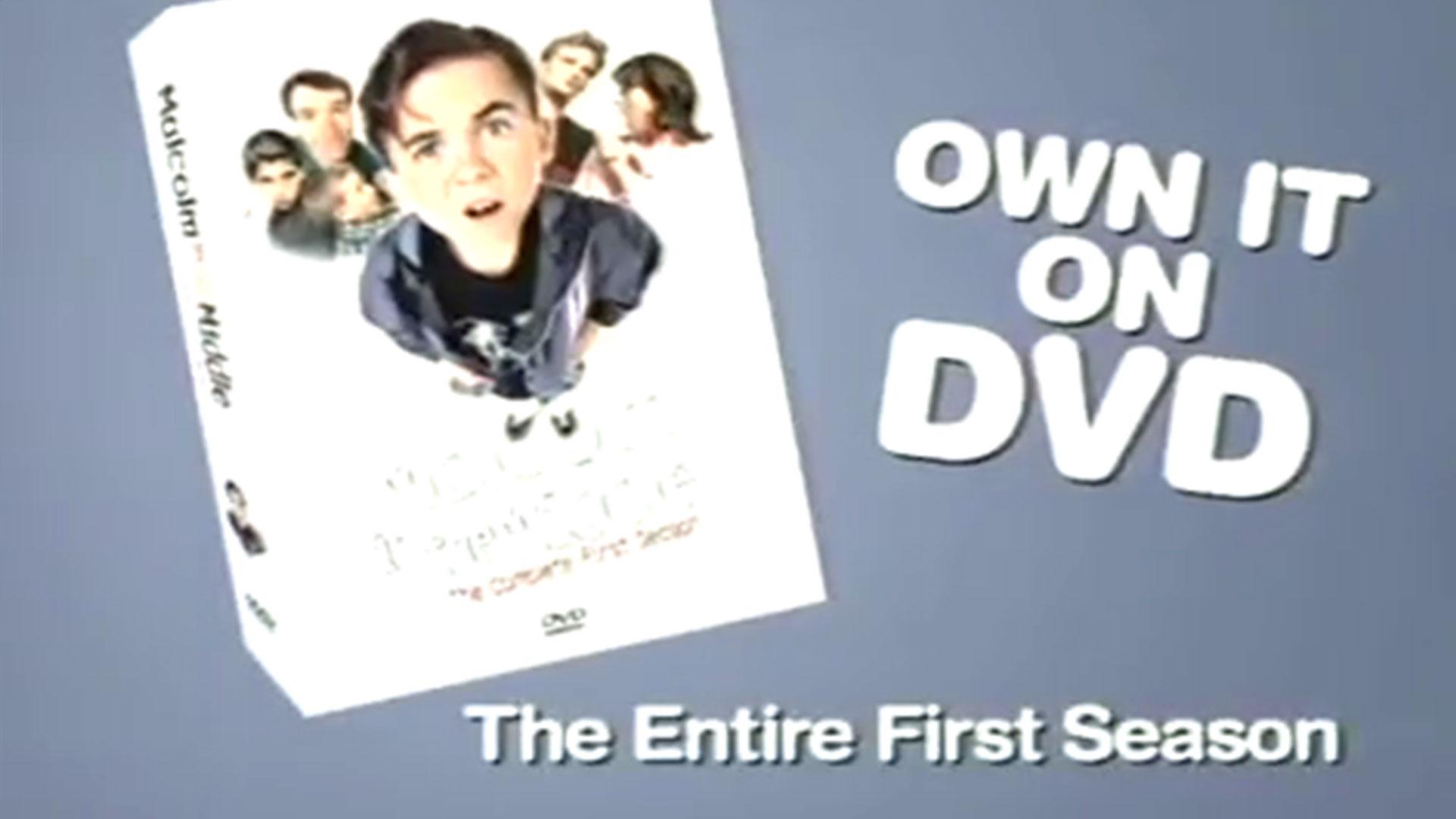 Promo <em>Malcolm in the Middle</em> saison 1 en DVD (États-Unis)