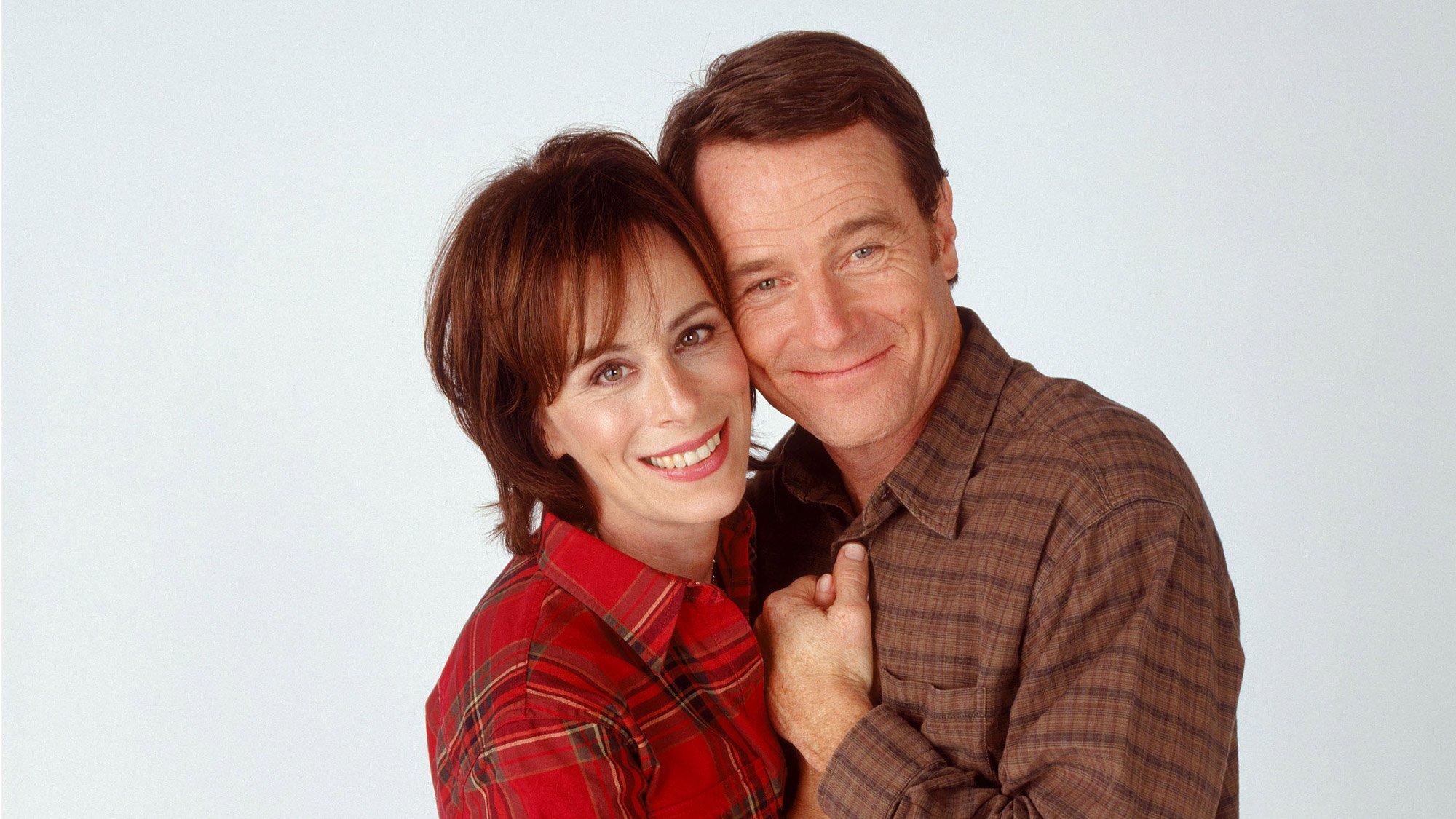 Jane Kaczmarek (Lois) et Bryan Cranston (Hal) dans