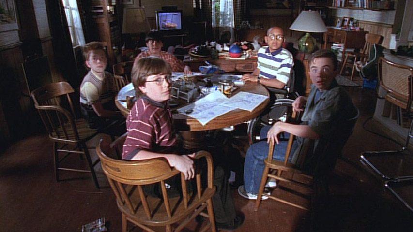 Will Jennings (Kyle), Kyle Sullivan (Dabney Hooper), Evan Matthew Cohen (Lloyd), Craig Lamar Traylor (Stevie Kenarban) et Frankie Muniz (Malcolm) dans