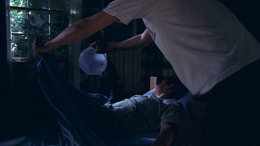 Justin Berfield (Reese) et Frankie Muniz (Malcolm) dans