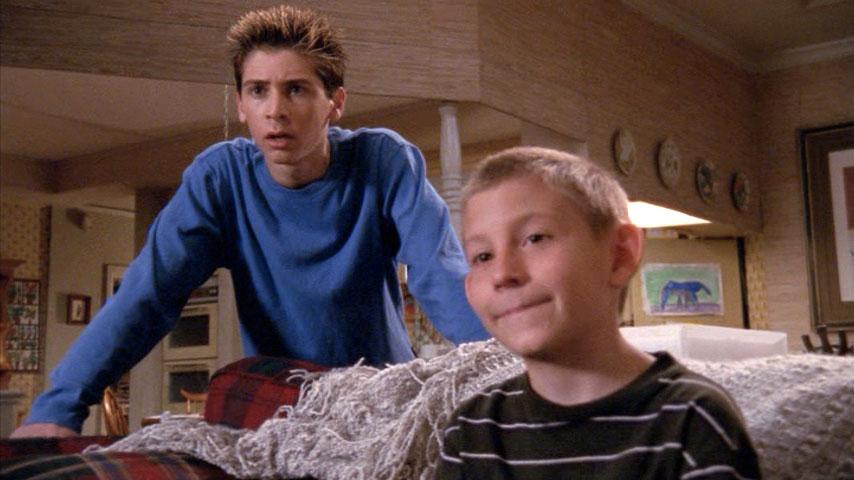 Justin Berfield (Reese) et Erik Per Sullivan (Dewey) dans