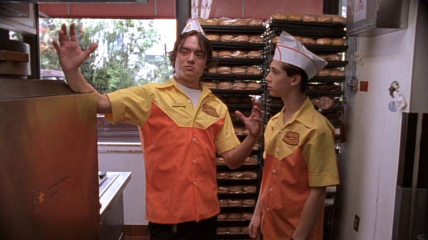 Todd Giebenhain (Richie) et Justin Berfield (Reese) dans
