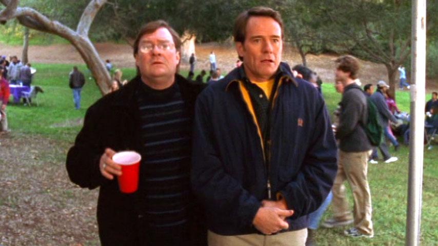 Stephen Root (John Pratt) et Bryan Cranston (Hal) dans