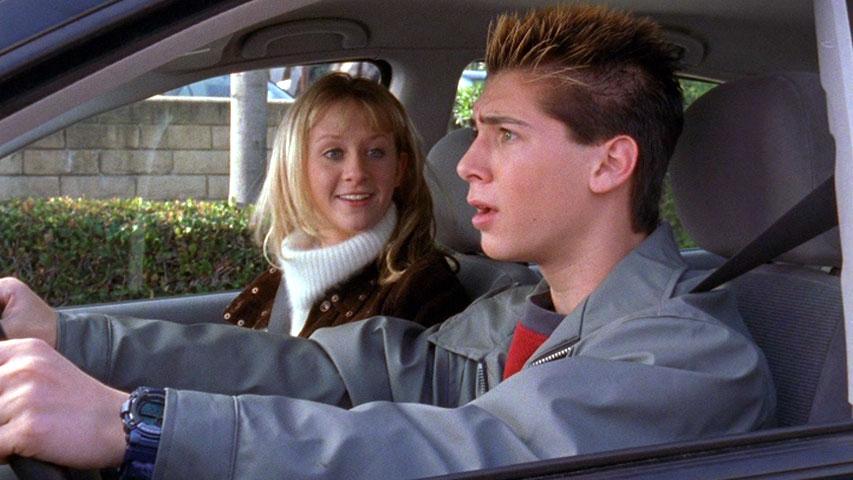 Rheagan Wallace (Jackie) et Justin Berfield (Reese) dans