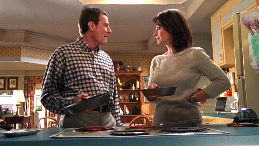 Bryan Cranston (Hal et Jane Kaczmarek (Lois) dans