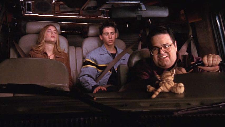 Brittany Renee Finamore (Alison), Justin Berfield (Reese) et David Anthony Higgins (Craig Feldspar) dans