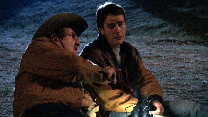 Kenneth Mars(Otto Mannkusser) et Bryan Cranston (Hal) dans