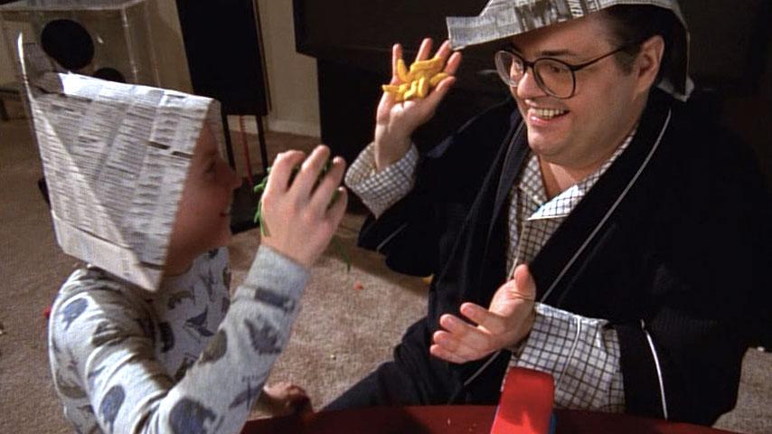 Erik Per Sullivan (Dewey) et David Anthony Higgins (Craig Feldspar) dans