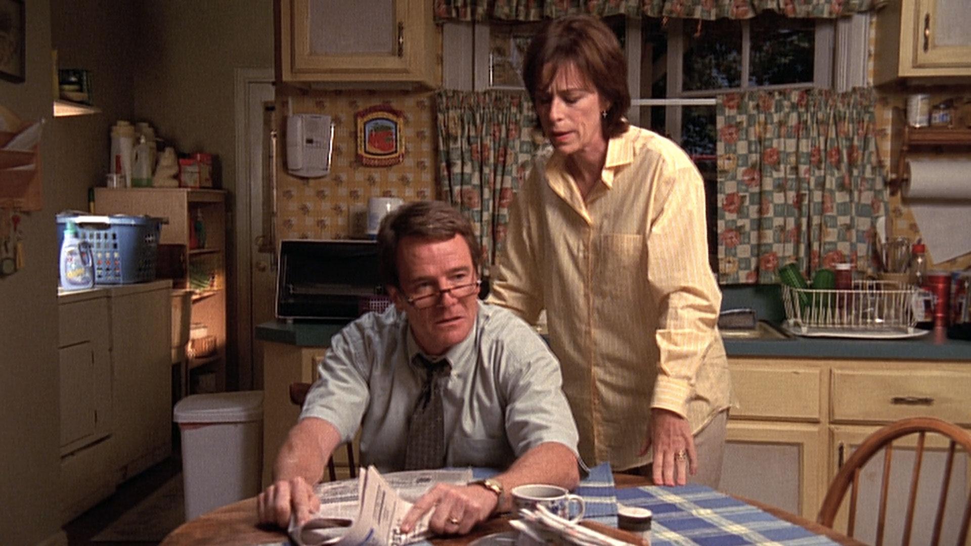 Bryan Cranston (Hal) et Jane Kaczmarek (Lois) dans