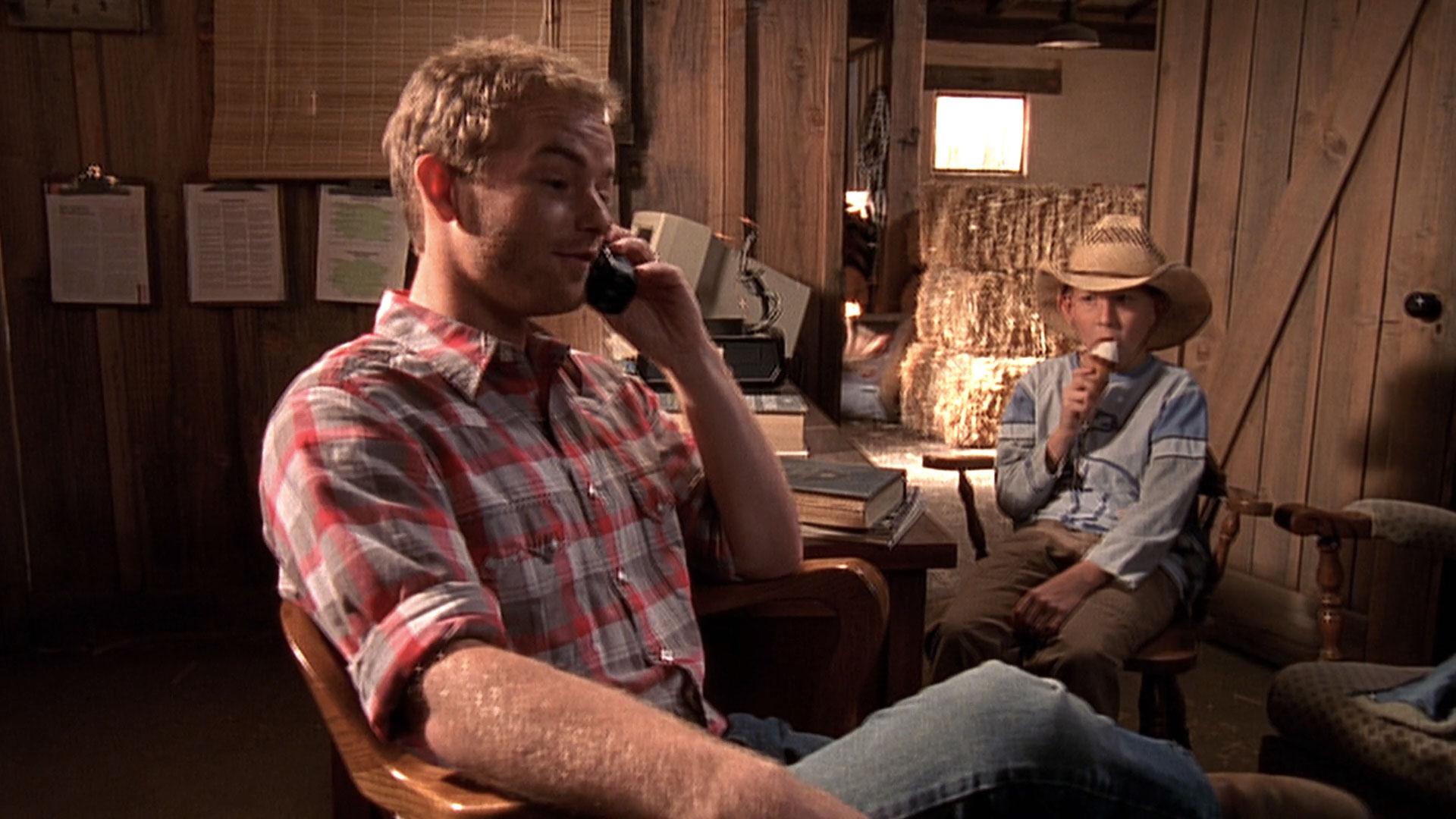 Christopher Masterson (Francis) et Erik Per Sullivan (Dewey) dans
