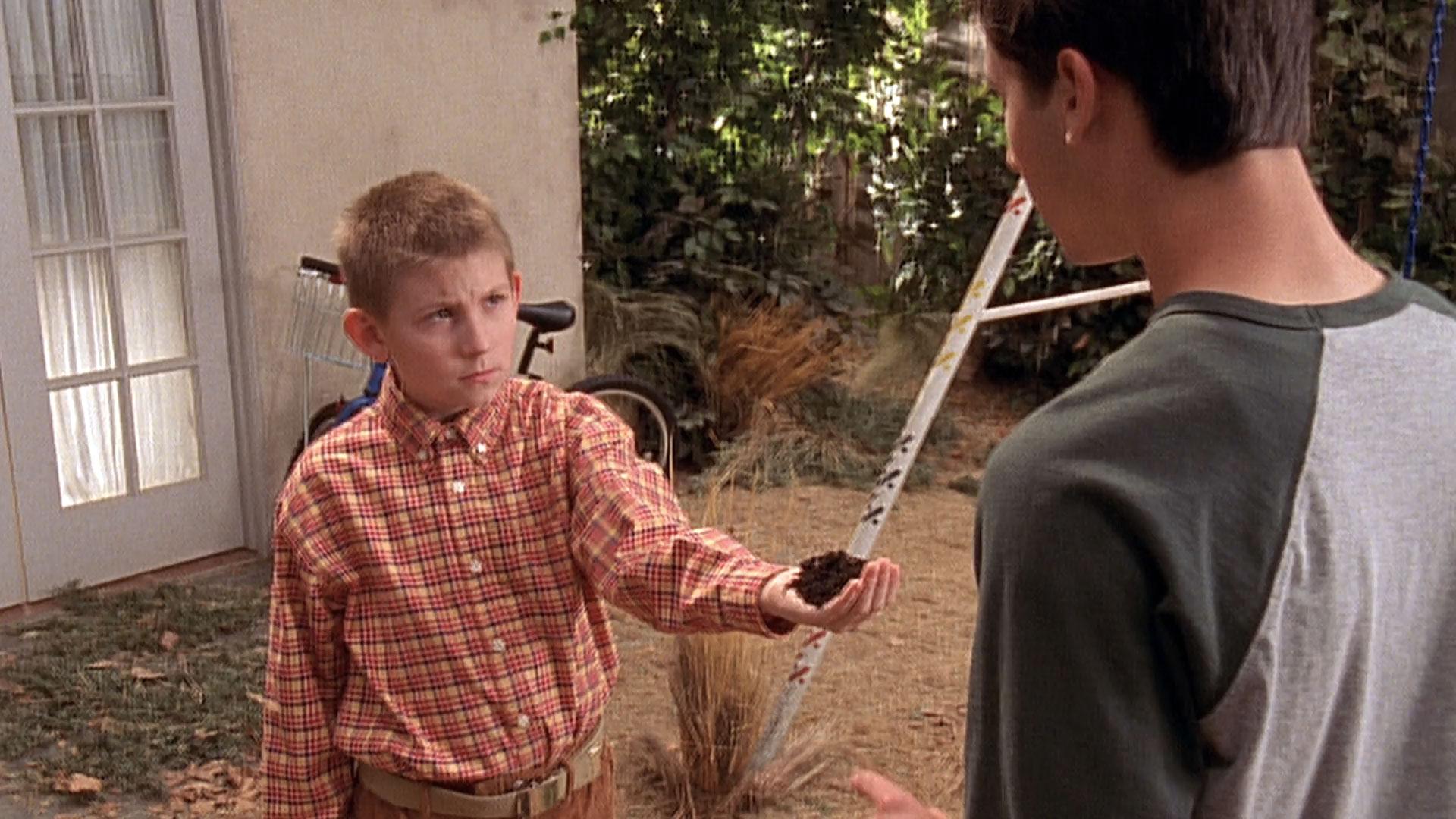 Erik Per Sullivan (Dewey) et Justin Berfield (Reese) dans