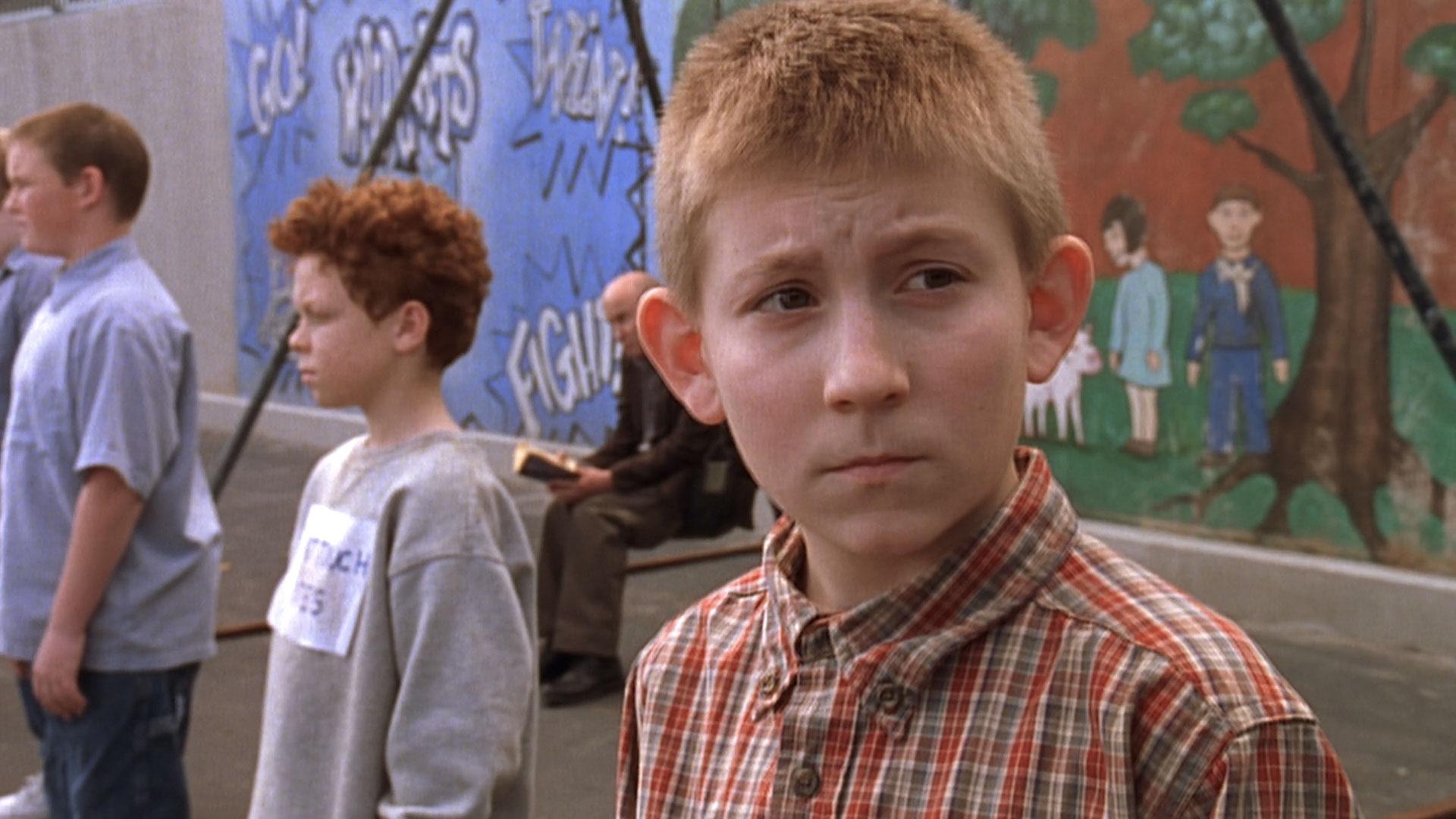 Danny McCarthy (Hanson), Cameron Monaghan (Chad), et Erik Per Sullivan (Dewey) dans