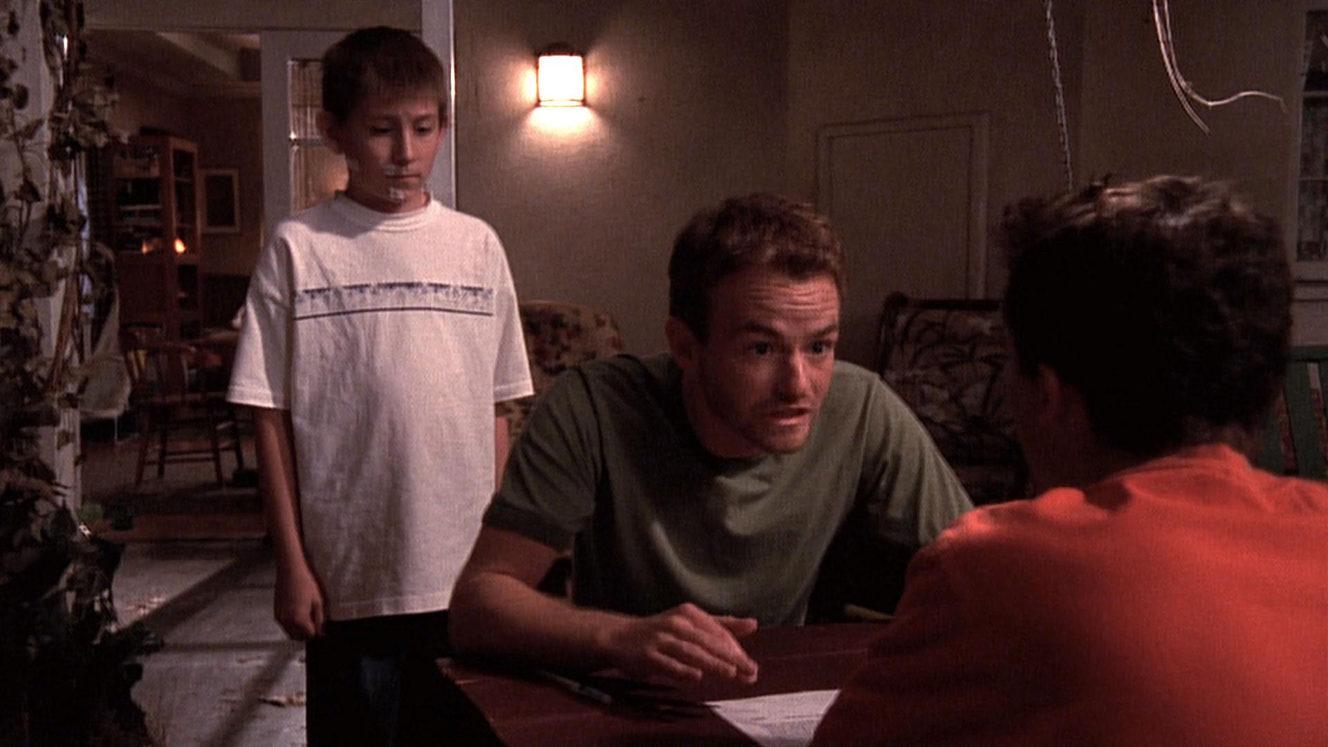 Erik Per Sullivan (Dewey), Christopher Masterson (Francis) et Frankie Muniz (Malcolm) dans