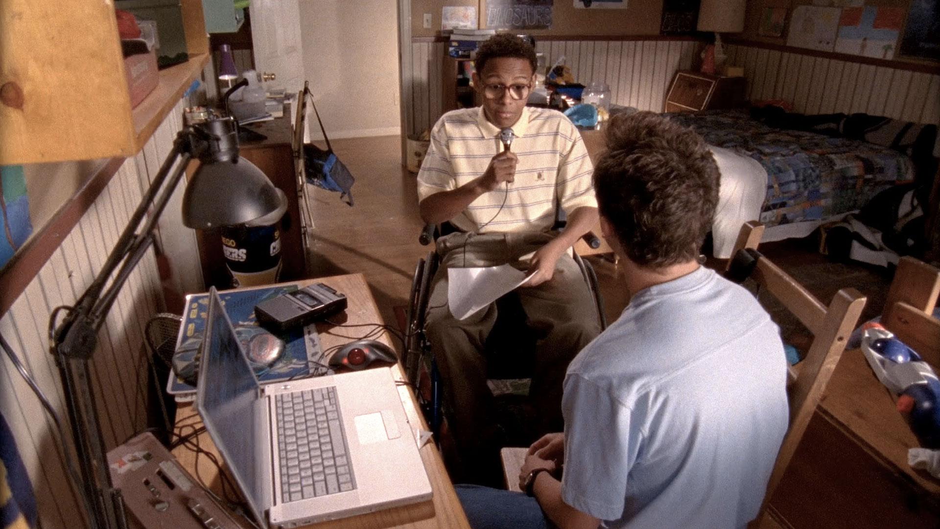 Craig Lamar Traylor (Stevie Kenarban) et Frankie Muniz (Malcolm) dans