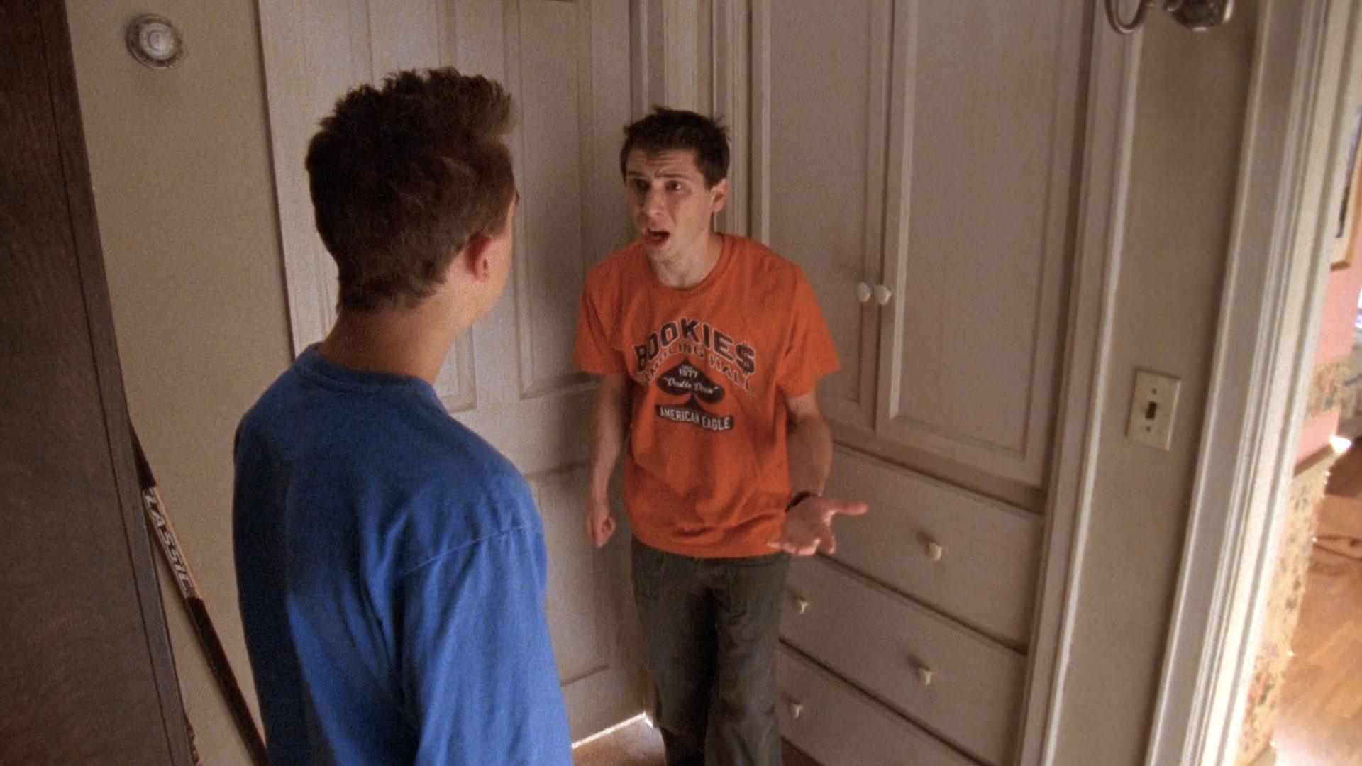 Frankie Muniz (Malcolm) et Justin Berfield (Reese) dans